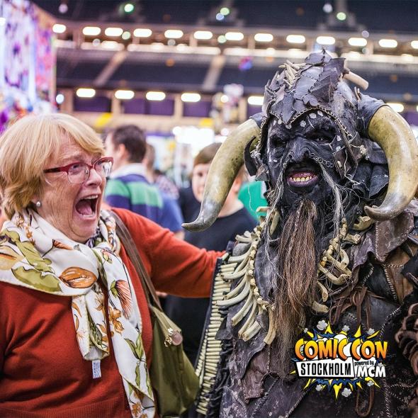 Comic Con Gamex 2015 Stockholm