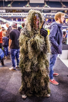 Cosplay ComicCon Gamex 2015