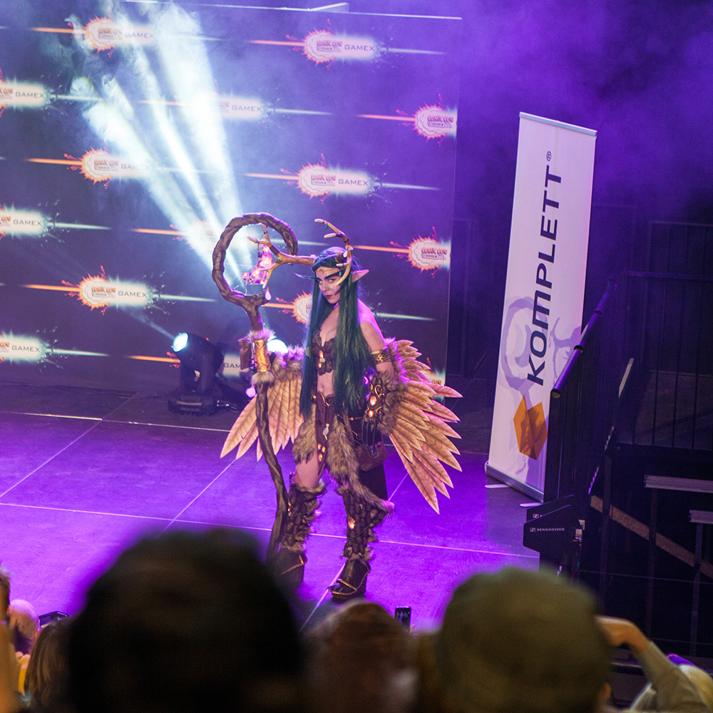 Cosplay competition - ComicCon Gamex 2015