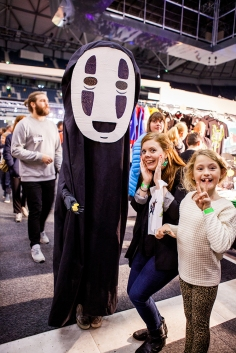 Cosplay from Spirited Away - ComicCon Gamex 2015
