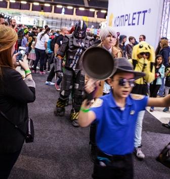 Cosplay parade - ComicCon Gamex 2015