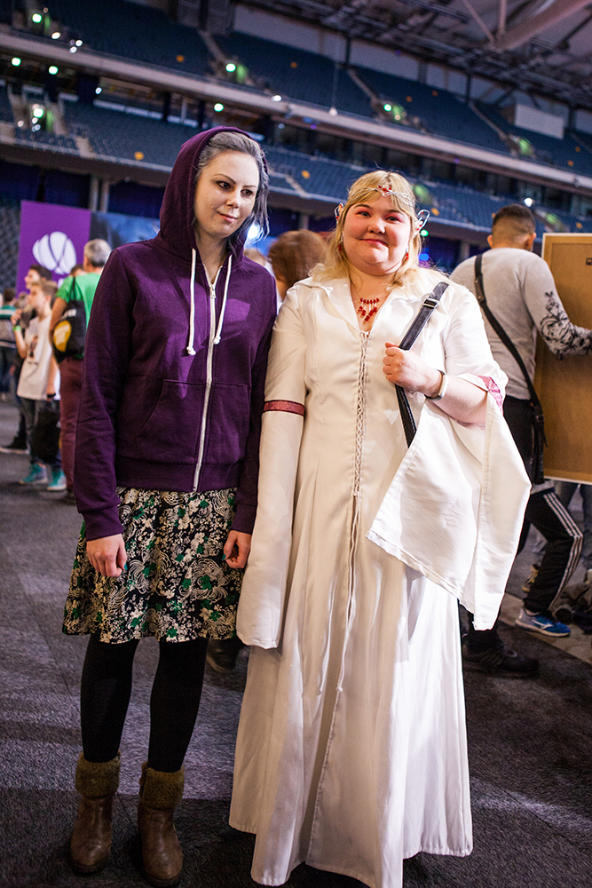 Cosplayers - ComicCon Gamex 2015