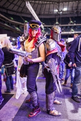 Cosplayers LOL - ComicCon Gamex 2015