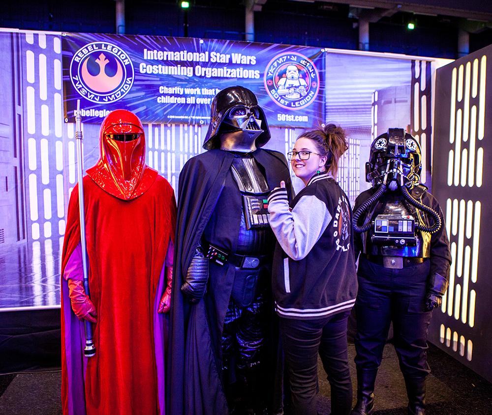 Darth Vader cosplay - ComicCon Gamex 2015