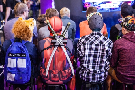 Deadpool - ComicCon Gamex 2015