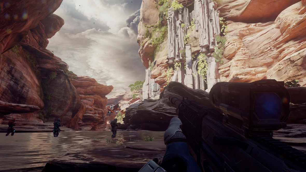 Halo 5 Guardians - Enjoying the sceneries 1Halo 5 Guardians - Enjoying the sceneries 1