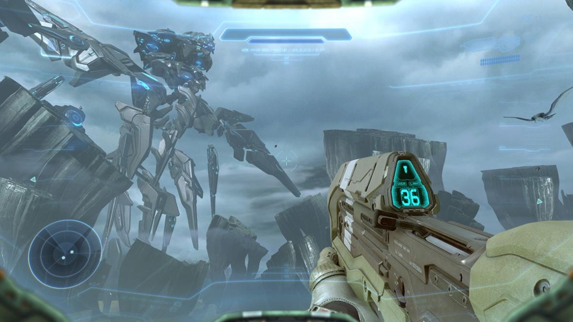 Halo 5 Guardians - That's a big robot