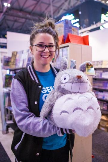 Jinn found a Totoro!