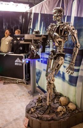 Terminator statue