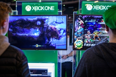 Xbox One at Comic Con Gamex
