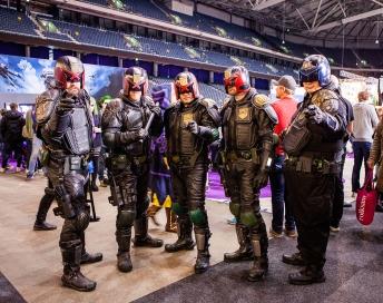 Judge Dredds - ComicCon Gamex 2015