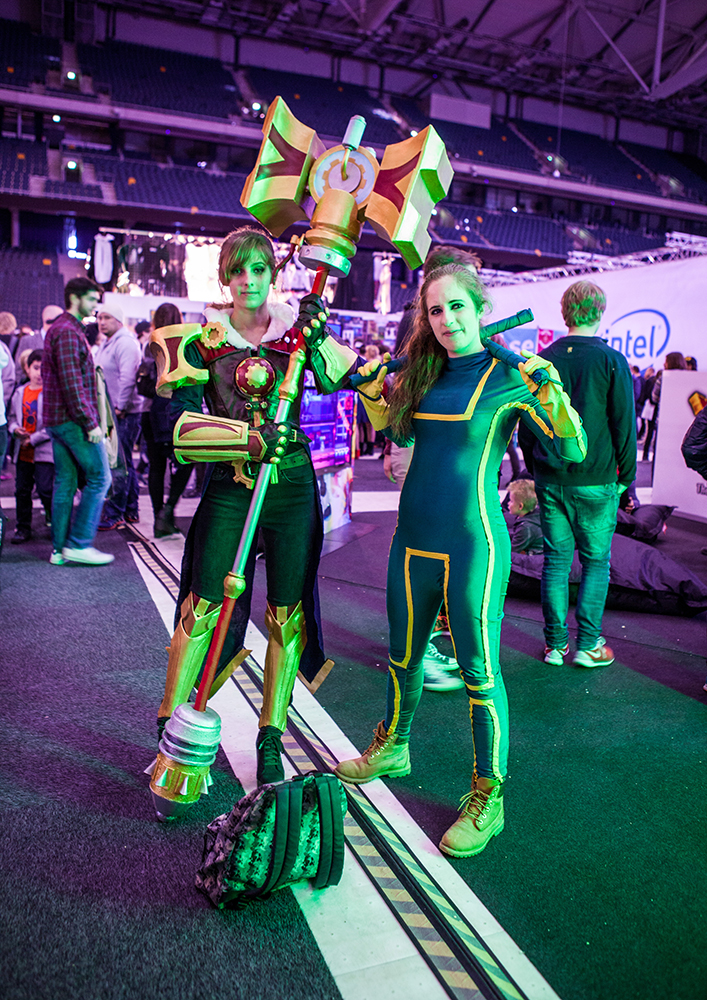 Kickass cosplay - ComicCon Gamex 2015