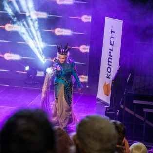 Komplett cosplay competition - ComicCon Gamex 2015