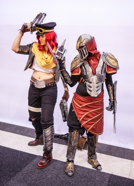 League of Legends cosplayers - ComicCon Gamex 2015