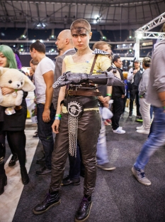 Mad Max Furiosa cosplay - ComicCon Gamex 2015