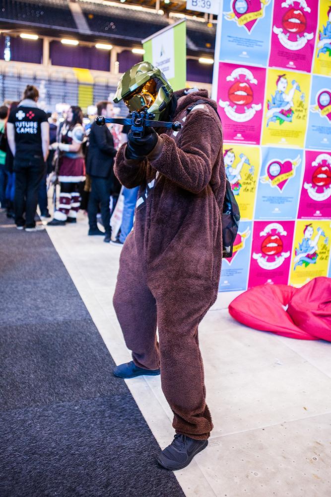 Master chiefbacca - ComicCon Gamex 2015