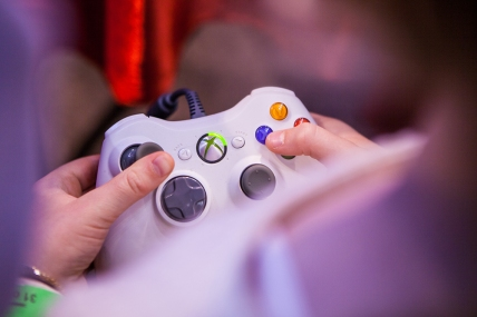 Gaming at Comic Con Gamex 2015