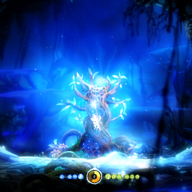 Ori & The Blind Forest - gain an ability