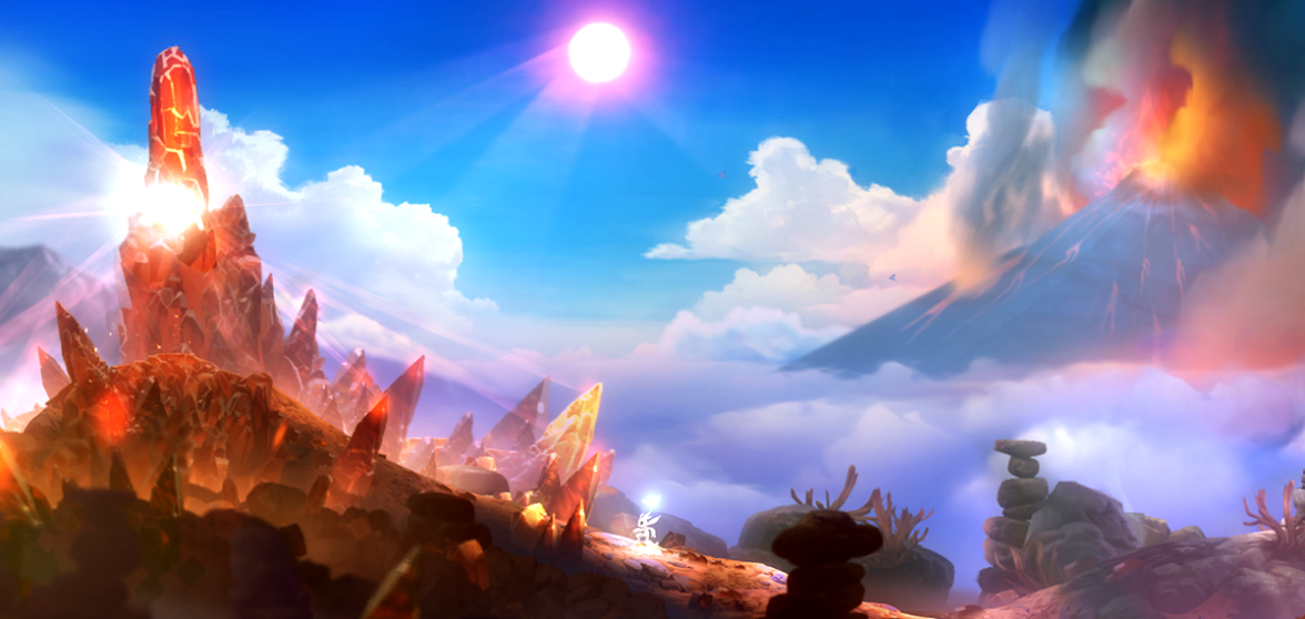 Ori & The Blind Forest - mount horu