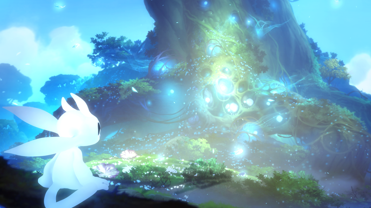 Ori & The Blind Forest - Ori and the Spirit Tree
