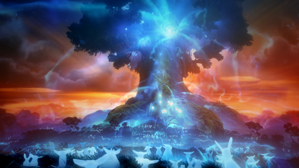 Ori & The Blind Forest - Spirit tree