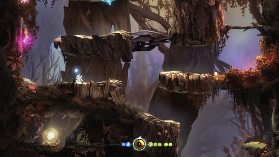 Ori & The Blind Forest - trees