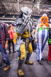 Predator cosplay - ComicCon Gamex 2015