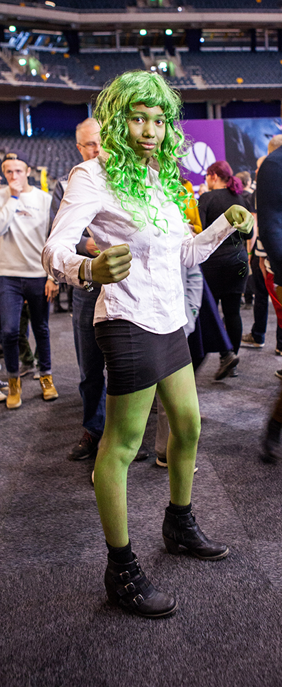 She-hulk - ComicCon Gamex 2015
