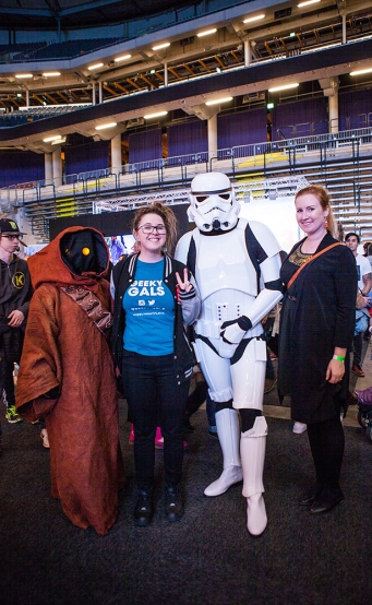 Star Wars cosplay - ComicCon Gamex 2015