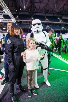 Storm trooper cosplay - ComicCon Gamex 2015
