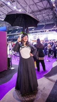 Totoro cosplay - ComicCon Gamex 2015