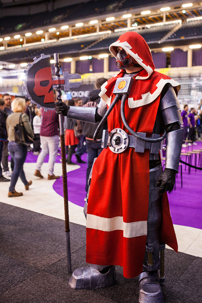 Warhammer cosplay - ComicCon Gamex 2015