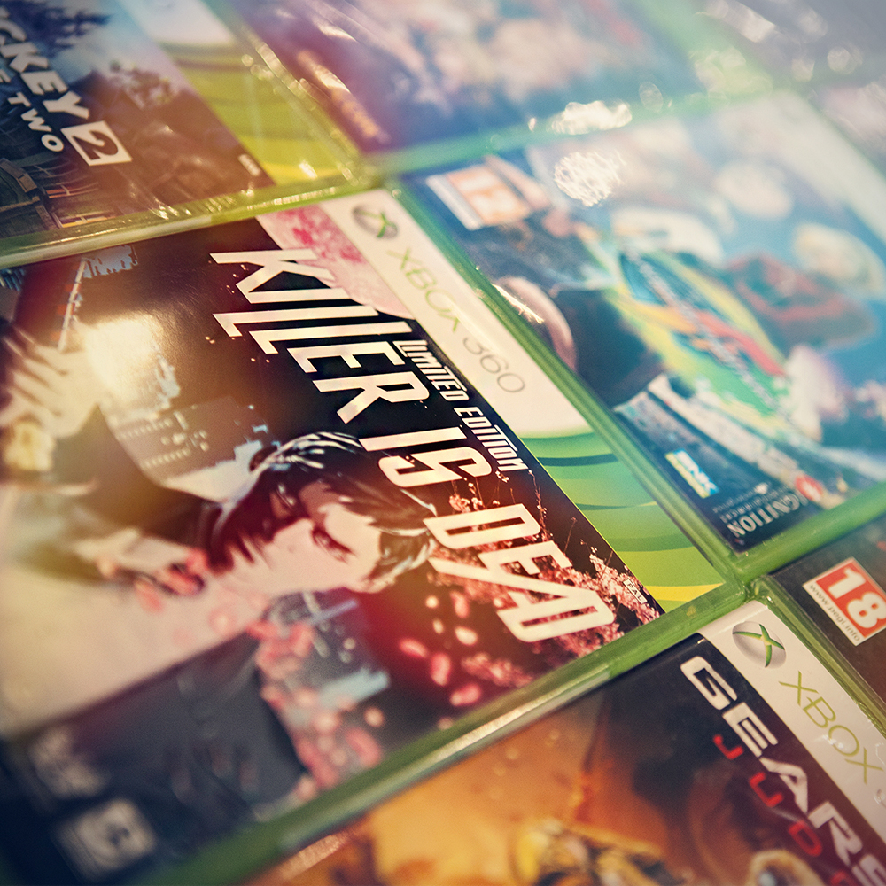 Killer is Dead and other 360 titles