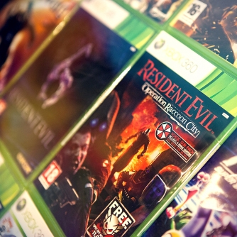 Resident evil and other 360 titles