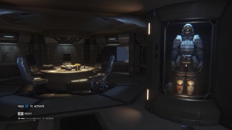 Alien Isolation coffe room