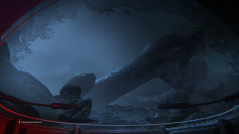 Alien Isolation ship wreck