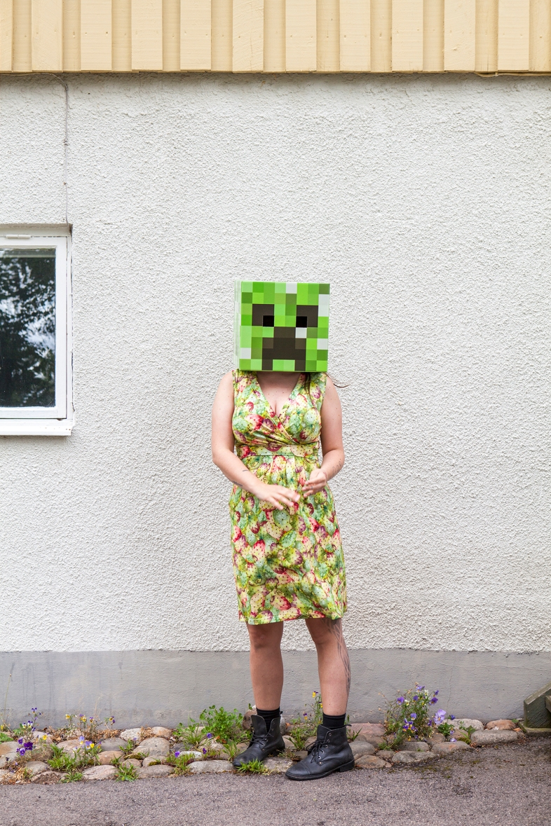 Minecraft Creeper Ehm hello