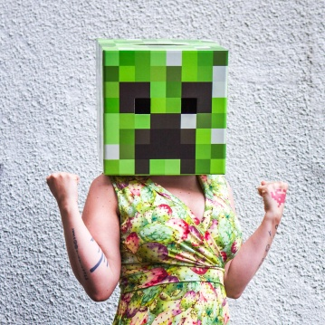 Minecraft Creeper Yes we can!