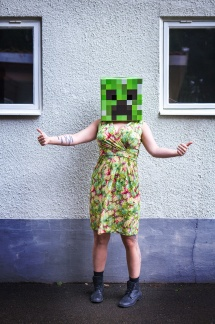 Minecraft Creeper thumbs up