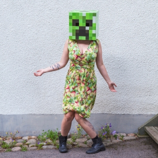 Minecraft Creeper WTF