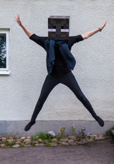 Minecraft Enderman jump
