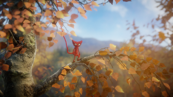 Unravel - Yarny in the birch forest