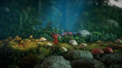 Unravel - Yarny in the forest