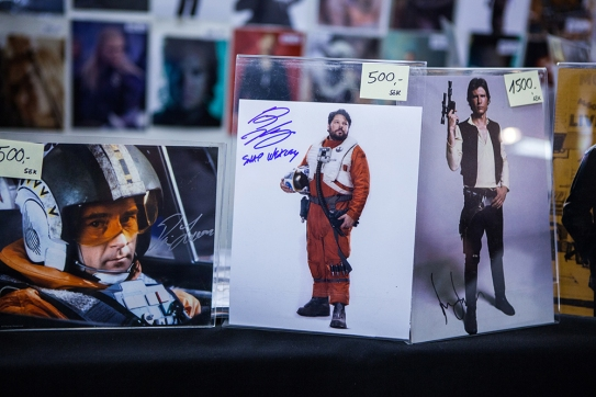 Autographs at Sci-Fi World