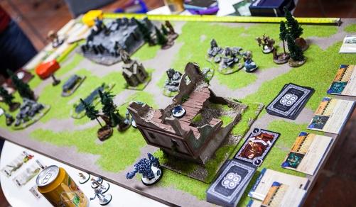 Board games at Sci-Fi World
