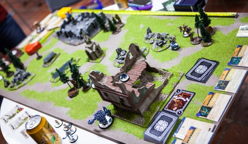 Board games at Sci-Fi World