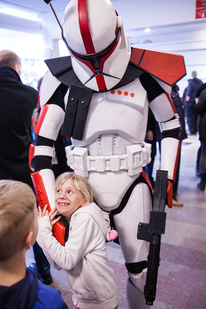 Clone trooper love