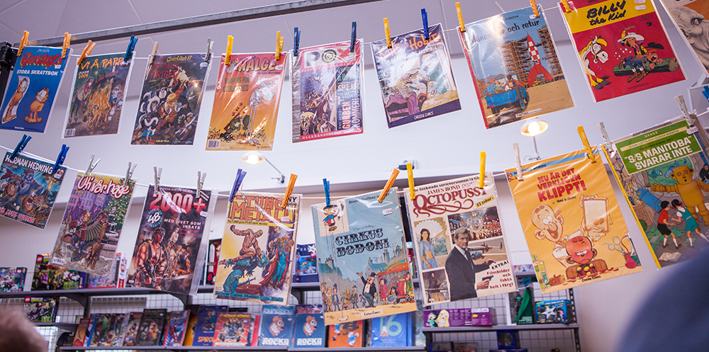 Comic books at Sci-Fi World