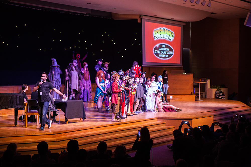 Cosplay competition - All competitors