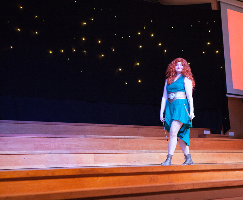 Cosplay competition - Merida